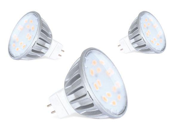 LED-Spiegellampe DAYLITE MR16-280K, 3,5 W, 6000k, 280 lm, 3 Stück - Produktbild 1