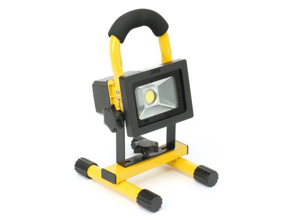 LED-Baustrahler mit Akku LED'S WORK, EEK: A, 10 W, 750 lm, IP65 - Produktbild 1
