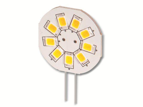 LED-Lampe, G4, 10...15 V-/~, 1,5 W, warmweiß - Produktbild 1