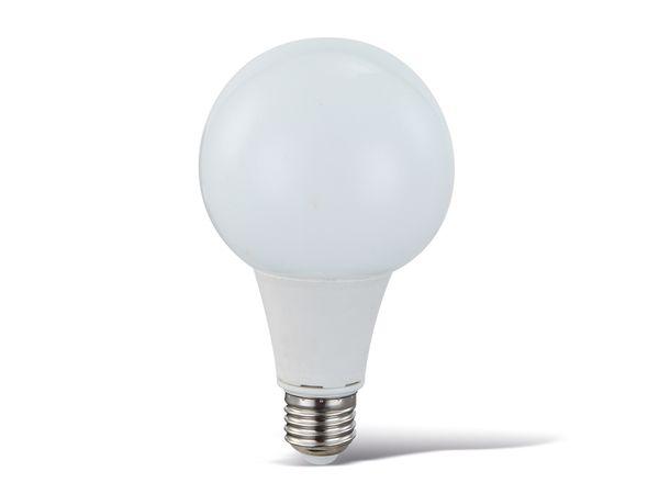 LED-Lampe, E27, 230 V~, 10 W, 3000 K, 810 lm, Globe, dimmbar