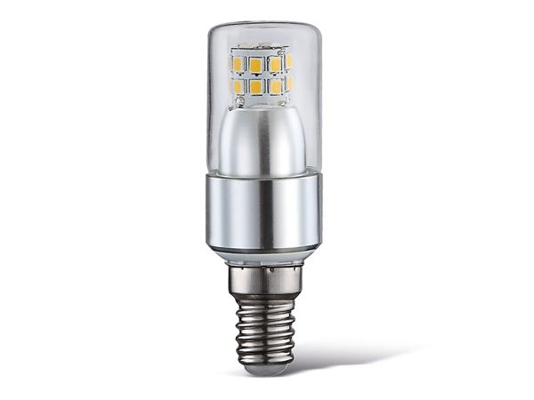 LED-Lampe, E14, 230 V~, 4 W, 3000 K, 400 lm, klar
