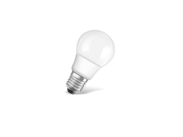 LED-Lampe OSRAM STAR CLASSIC A, E 27, EEK: A+, 5W, 470 lm, 4000 K