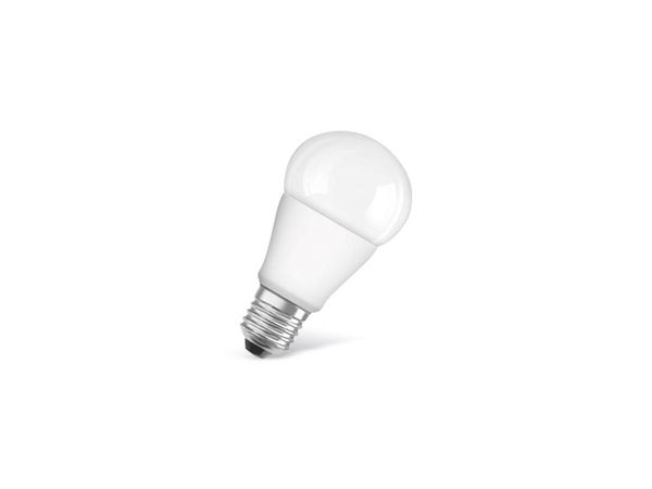 LED-Lampe OSRAM STAR CLASSIC A, E 27, EEK: A+, 9W, 806 lm, 2700 K