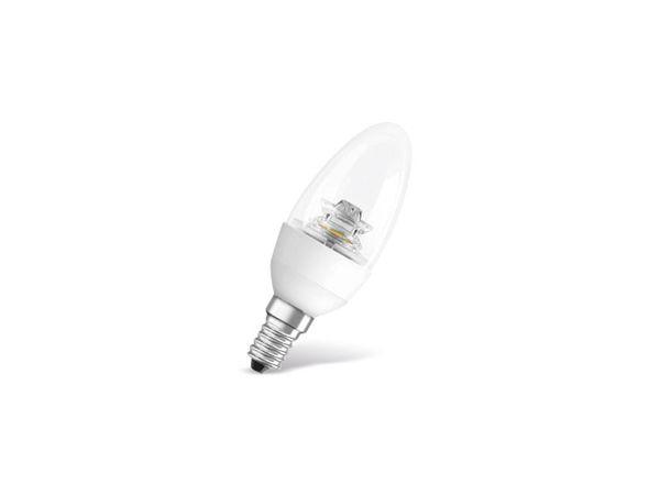 LED-Lampe OSRAM STAR CLASSIC B, E 14, EEK: A+, 5,7 W, 470 lm, 2700 K