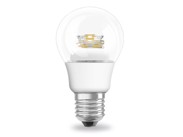LED-Lampe OSRAM SUPERSTAR CLASSIC, E27, EEK: A+, 6 W, 470 lm, 2700 K