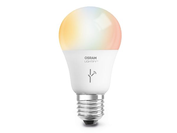 LED-Lampe OSRAM LIGHTIFY CLASSIC, RGBW, 10 W, 810 lm - Produktbild 1