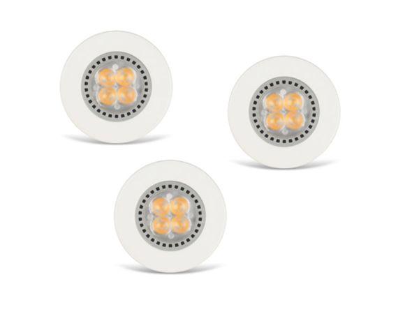 LED-Einbauleuchte JEDI Optima S35, 230 V~, 230 lm, 3000 K, 3 Stück - Produktbild 1