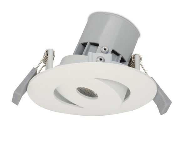 LED-Einbauleuchte JEDI Integra S50, weiß, EEK: A, 7 W, 345 lm, 3000 K - Produktbild 1