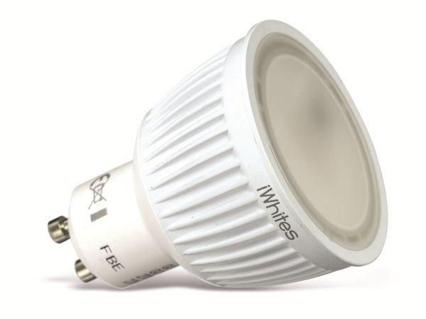 LED-Lampe JEDI LIGHTING iWhites, GU10, EEK: A, 6,5 W, 280 lm - Produktbild 1