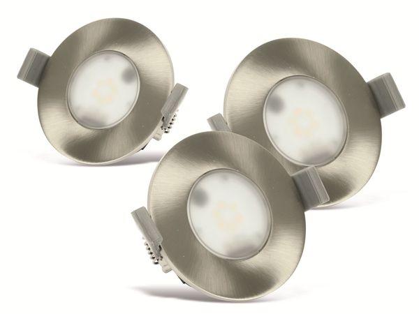 LED-Einbauleuchten-Set, JEDI LIGHTING, 345 lm, 3 Stück - Produktbild 1