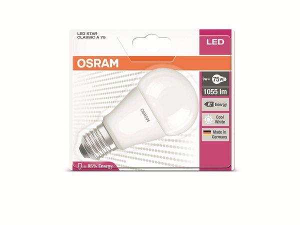 LED-Lampe OSRAM STAR CLASSIC A 75, E27, EEK: A+, 10W, 1055 lm, 4000 K - Produktbild 3
