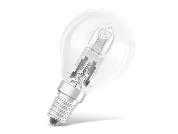 Halogen-Lampe OSRAM CLASSIC P, E14, EEK: D, 20 W, 235 lm
