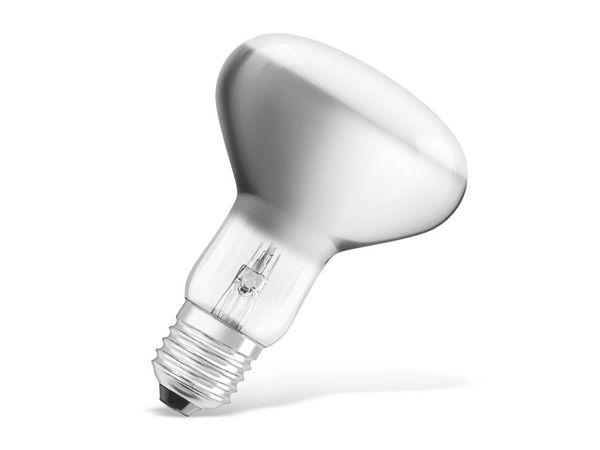 Halogen-Lampe OSRAM CLASSIC R80, E27, EEK: D, 57 W, 370 lm