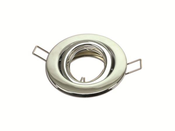 MR16/GU10-Deckeneinbauleuchte KNOCH-LICHT E 05201-0, schwenkbar, chrom - Produktbild 1