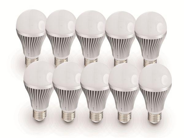 LED-Lampe DAYLITE G-E27-450, E27, 7 W, 10 Stück