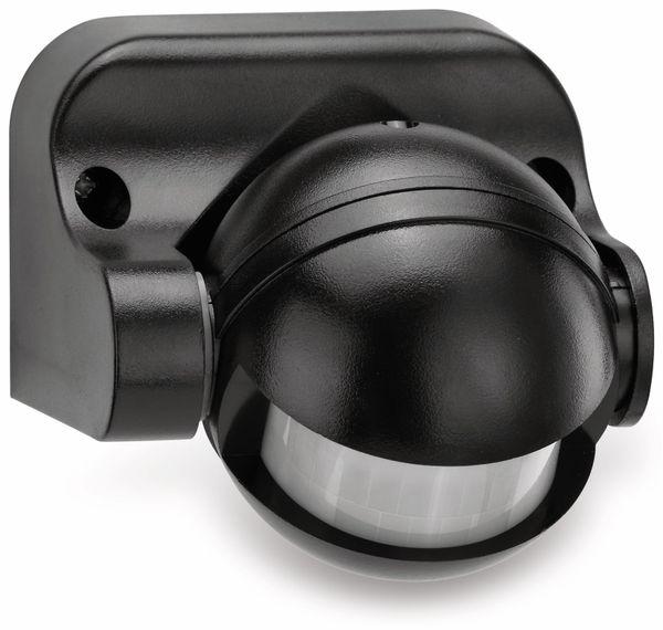 Bewegungsmelder SONERO X-IMS041, 180°, IP44, schwenkbar, schwarz - Produktbild 1