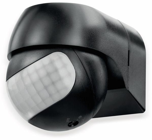 Bewegungsmelder SONERO X-IMS081, 180°, IP44, schwenkbar, schwarz