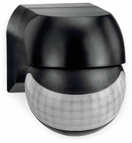 Bewegungsmelder SONERO X-IMS081, 180°, IP44, schwenkbar, schwarz - Produktbild 2