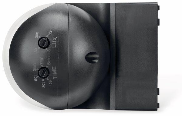 Bewegungsmelder SONERO X-IMS081, 180°, IP44, schwenkbar, schwarz - Produktbild 5