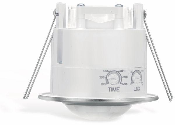 Deckeneinbau-Bewegungsmelder SONERO X-IMS110, 360°, weiß-chrom - Produktbild 2