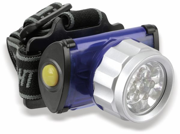 LED-Stirnlampe DUNLOP, 7 LED´s, 4 Funktionen - Produktbild 1