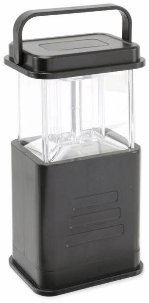 Camping-Leuchte, 4 LEDs, schwarz - Produktbild 1