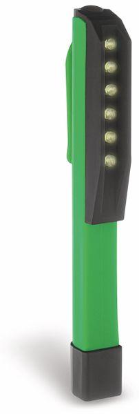 LED Taschenlampe FX LIGHT, 6 LEDs, grün