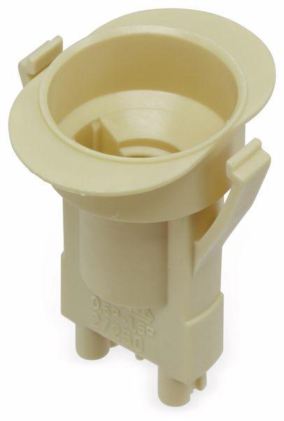 Fassung Typ 725, E14, Iso, Snap-in, beige - Produktbild 1