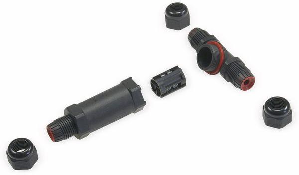 Kabel T-Verbinder, 3polig, IP68, 230V~ - Produktbild 2