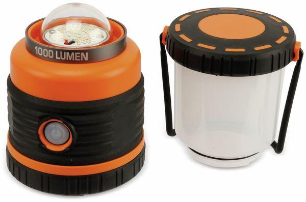 Camping Laterne Dunlop 1000 lm batteriebetrieb - Produktbild 1