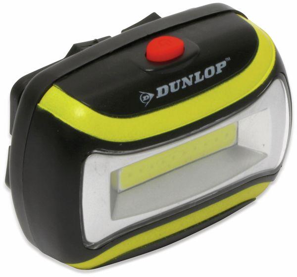 LED-Stirnlampe DUNLOP, COB, 1W - Produktbild 2