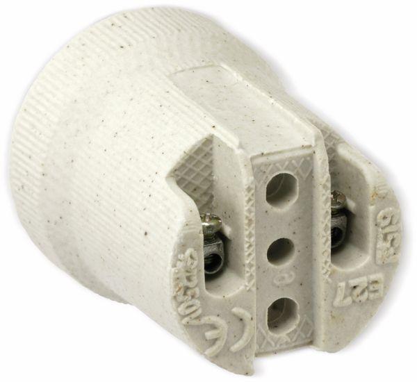 Lampenfassung E27, Keramik - Produktbild 3