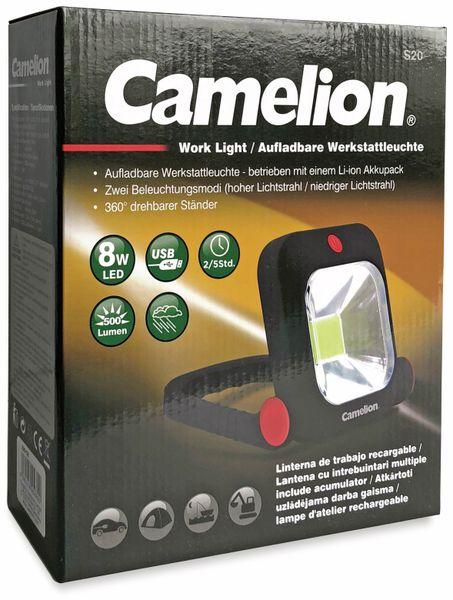 LED-Strahler CAMELION S20, 8 W, 500 lm, akkubetrieben - Produktbild 2
