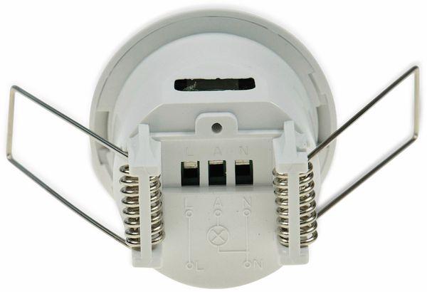 Bewegungsmelder Micro, 360°, IP20, weiß - Produktbild 4