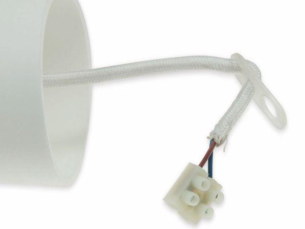 "E27 Lampenaufhängung ""Silikon"" 21620 E27, 80cm, weiß - Produktbild 2"