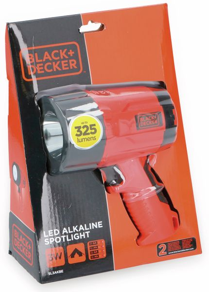Handlampe BLACK+Decker, 325 lm, 3 W - Produktbild 2