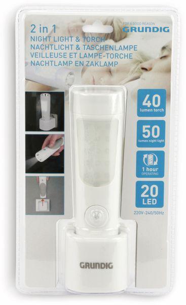 LED-Nachtlicht/Notlicht GRUNDIG mit Taschenlampe - Produktbild 5