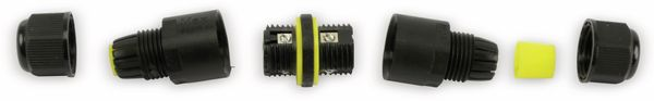 Kabelverbinder DAYTOOLS JW17-S, 3polig, IP68, 450V~ - Produktbild 2