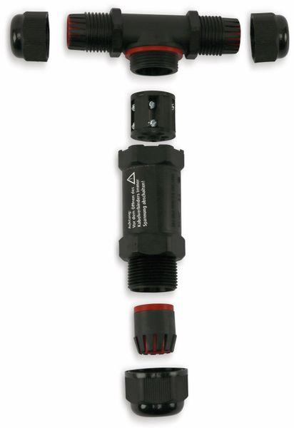 Kabel T-Verbinder DAYTOOLS JW17-T, 5-polig, IP68, 450 V~ - Produktbild 3