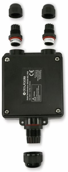 Kabel Verteilerdose DAYTOOLS JXH20A-W2, IP68, 450 V~ - Produktbild 3