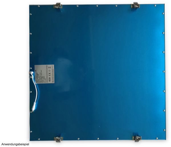 Montagesatz OPTONICA, 4 Federclips für LED-Panels - Produktbild 2