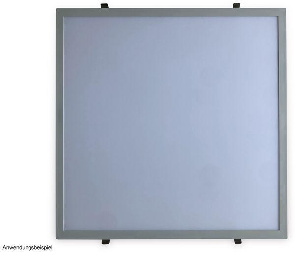 Montagesatz OPTONICA, 4 Federclips für LED-Panels - Produktbild 3