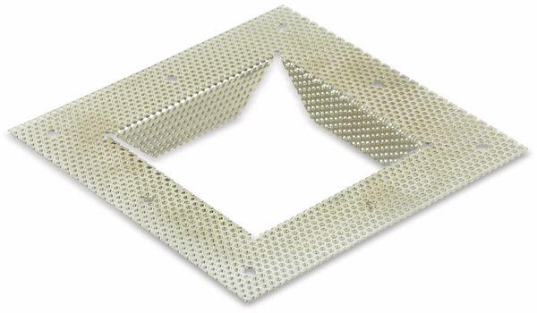 Einbaurahmen, Mobilux für MOW LBE-077, 128x128 mm