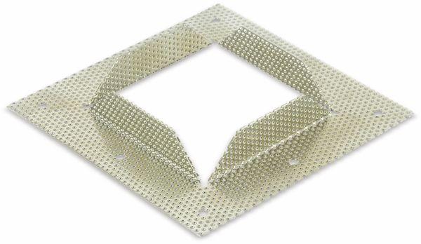 Einbaurahmen, Mobilux für MOW LBE-077, 128x128 mm - Produktbild 2