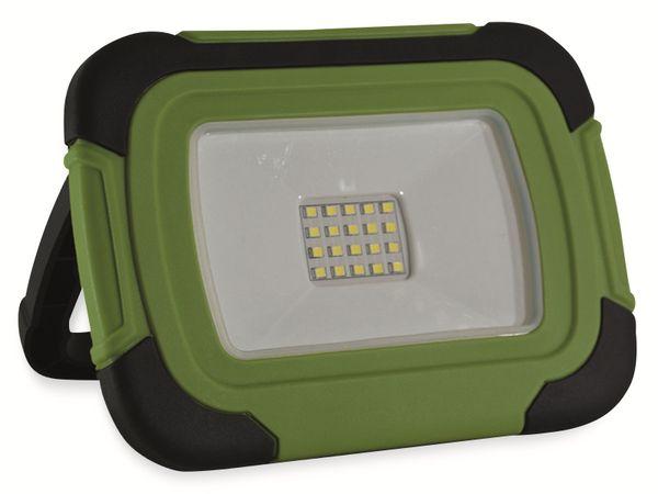 LED-Fluter VT-11-R, 10 W, 700 lm, Akkubetrieb, grün/schwarz