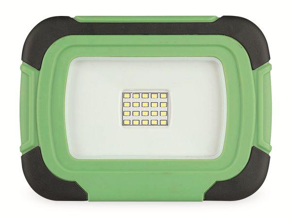 LED-Fluter VT-11-R, 10 W, 700 lm, 6400 K, Akkubetrieb, grün/schwarz - Produktbild 7