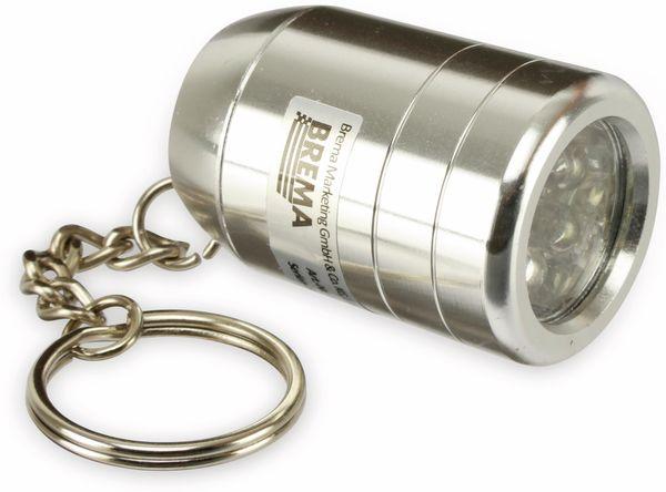 LED-Taschenlampe BREMA mit Schlüsselanhänger