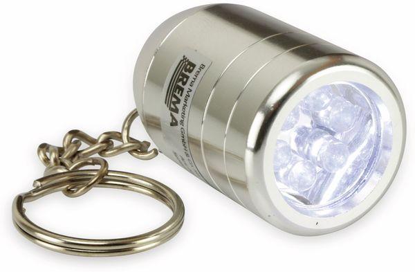 LED-Taschenlampe BREMA mit Schlüsselanhänger - Produktbild 2