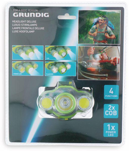 LED-Stirnlampe GRUNDIG, 2xCOB, 1xLED