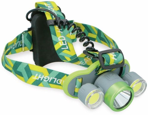 LED-Stirnlampe GRUNDIG, 2xCOB, 1xLED - Produktbild 2